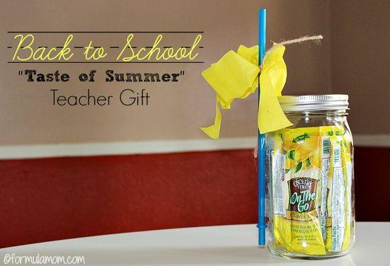 "Easy Back to School Teacher Gift - ""On The Go"" Drink"