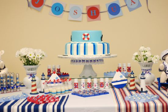 sailor theme, boating too cute! @Bobbi Sheridan