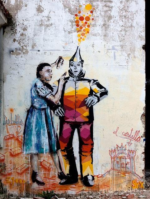 www.facebook.com/... Vinyl Toyz by Sr. X #street art #graffiti