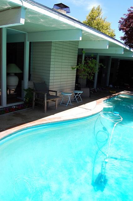 An Eichler home, Palo Alto, California