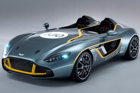 Aston Martin Celebrates its 100th Birthday with the CC100 Speedster