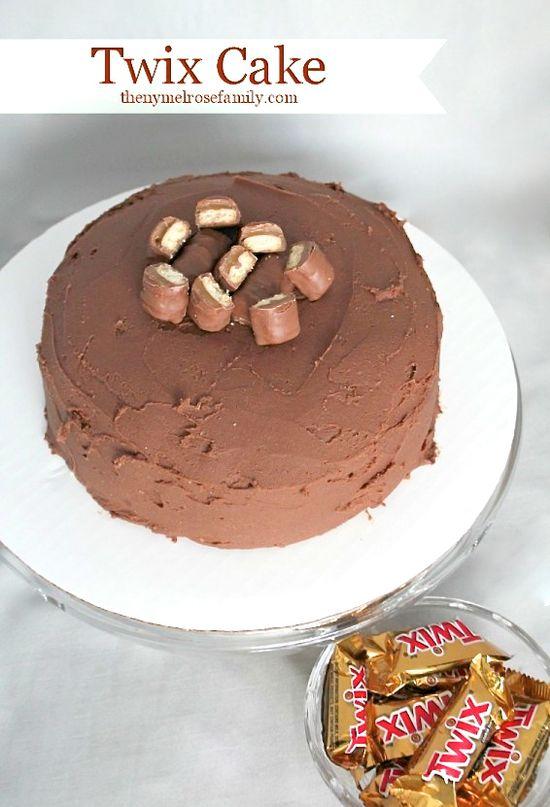 Twix Cake Recipe