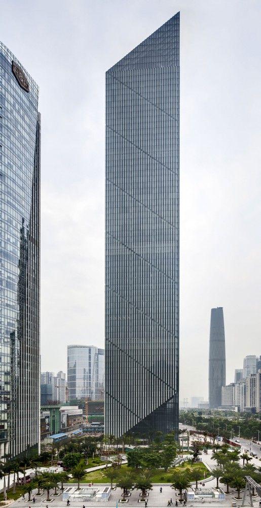 Leatop Plaza -  Murphy/Jahn - Guangzhou, China ?k? #architecture