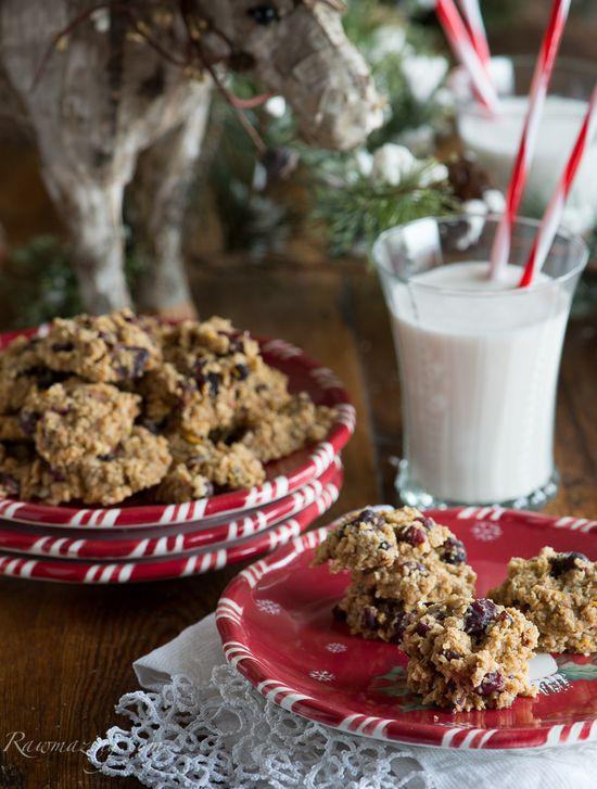 #Raw #vegan Oatmeal Cookies.