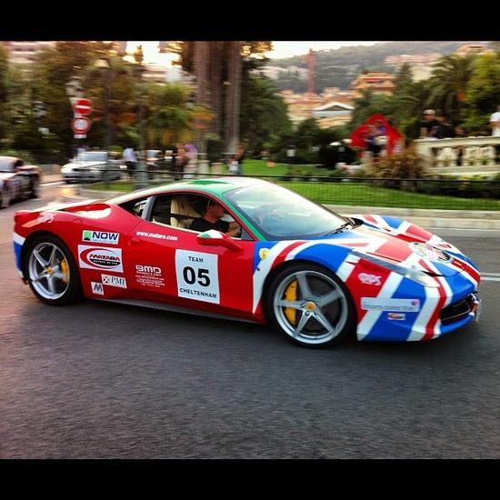 'British' Ferrari 458 Italia - Monaco
