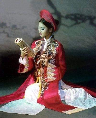 Ao Dai - Vietnamese traditional
