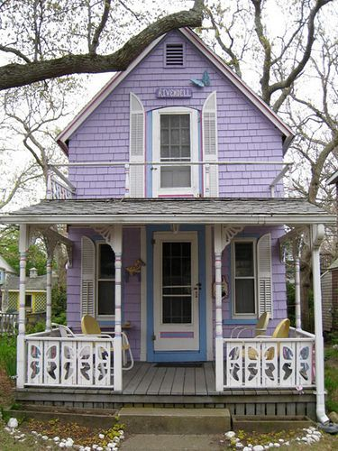 Purple Victorian Home ?