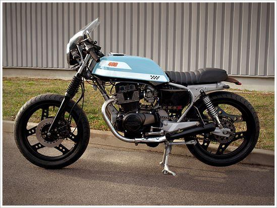 Boneyard Customs' '74 Yamaha TD250 - via Pipeburn