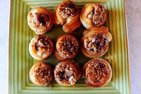 The Pioneer Woman's Mini Sticky Buns....I'm going to have to make these. Maybe this weekend...
