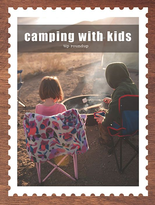 There are some good camping tips in here.  Her top one would also be mine.  I have all of my camping equipment in clear rubbermaid tubs, labeled with what is in each container.  It makes packing so much easier!  I have lists in there that even tell me the few things that I need to add from our home kitchen.  Makes preparing for camping a breeze.  | From blog Stolen Moments.