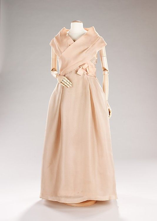House of Dior evening dress 1957