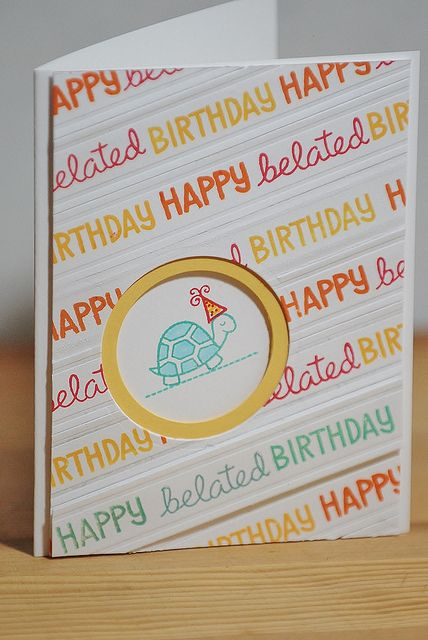 Lawn Fawn - Year Two _ card design by Colleen
