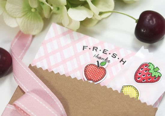 Fresh Fruit Stationery
