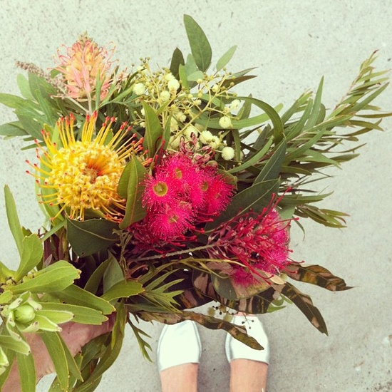 Today's bouquet