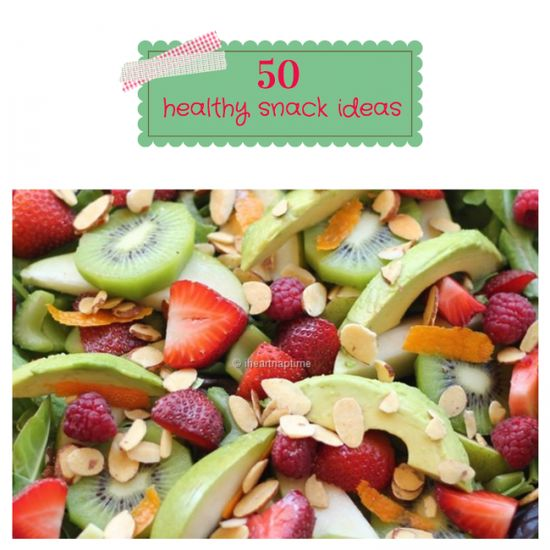 50 healthy snack ideas on iheartnaptime.net I realise this is aimed for children but they are great snacks For anyone!
