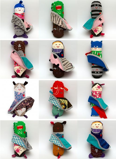 Dolls by Miszkomaszko @Neal Fine Little Day