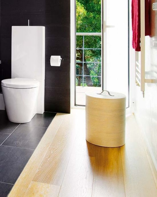 Glamorous Black Bathroom Designs