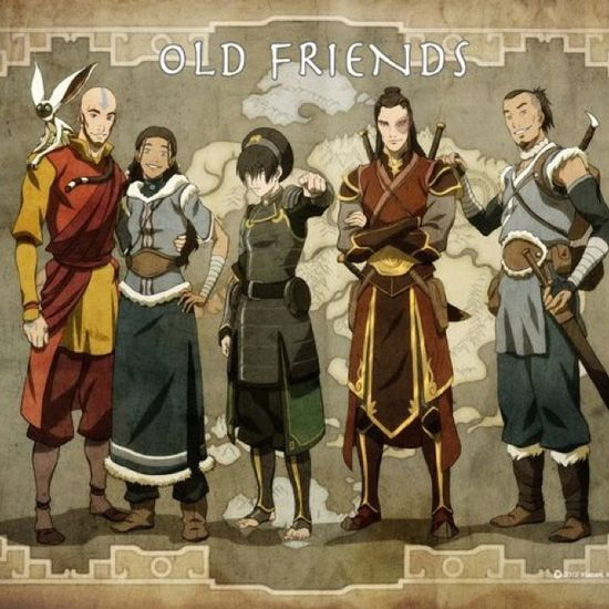 """Avatar: The Last Air Bender """"Old Friends"""""""