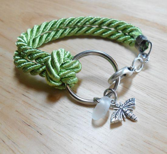 Sea Glass Jewelry bracelet