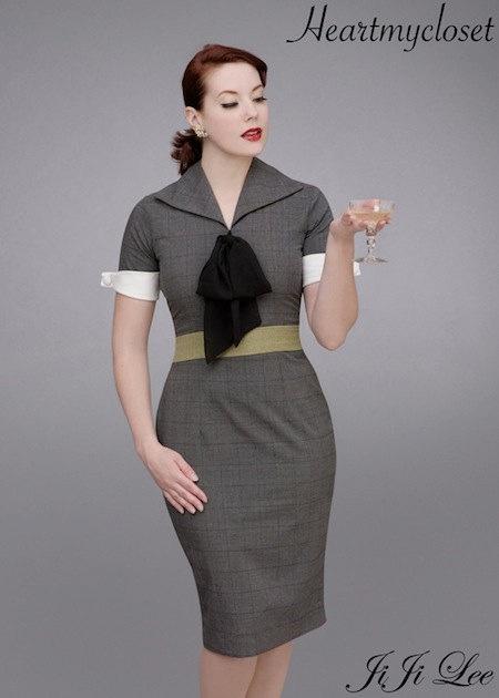 Custom made dress from Etsy shop heartmycloset.