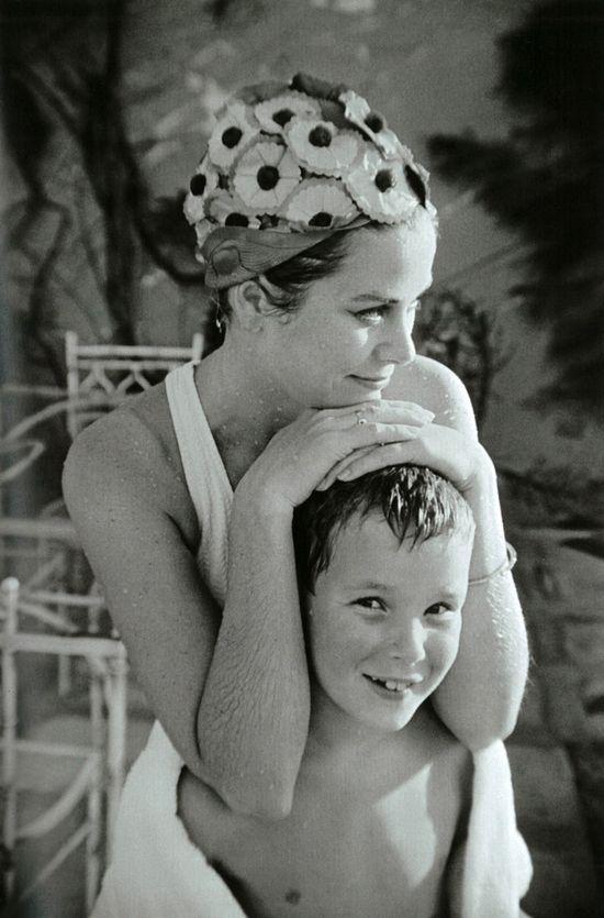 Princess Grace with Prince Albert