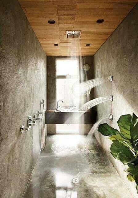 OMG want this shower system! !!!!!