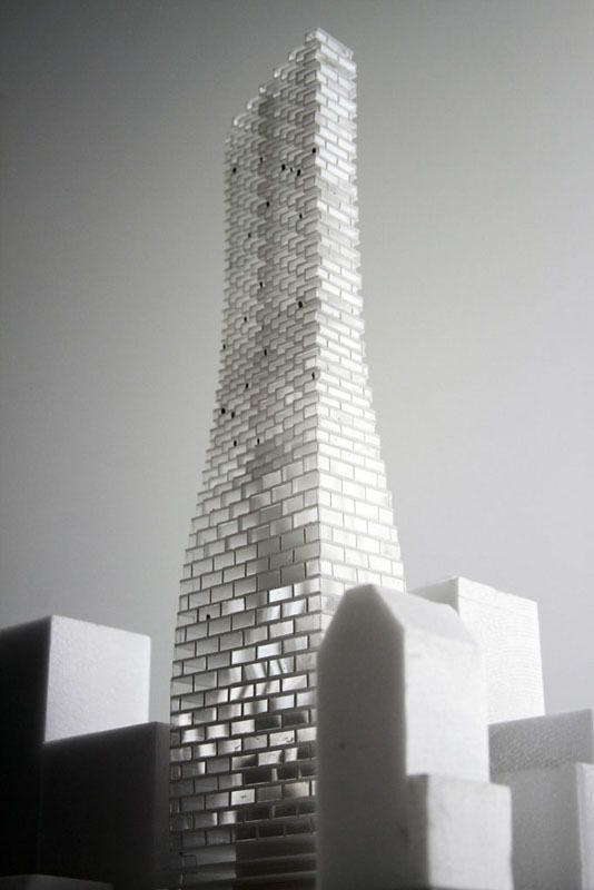 Architectural Model - BIG 'Telus Sky' Tower in Calgary
