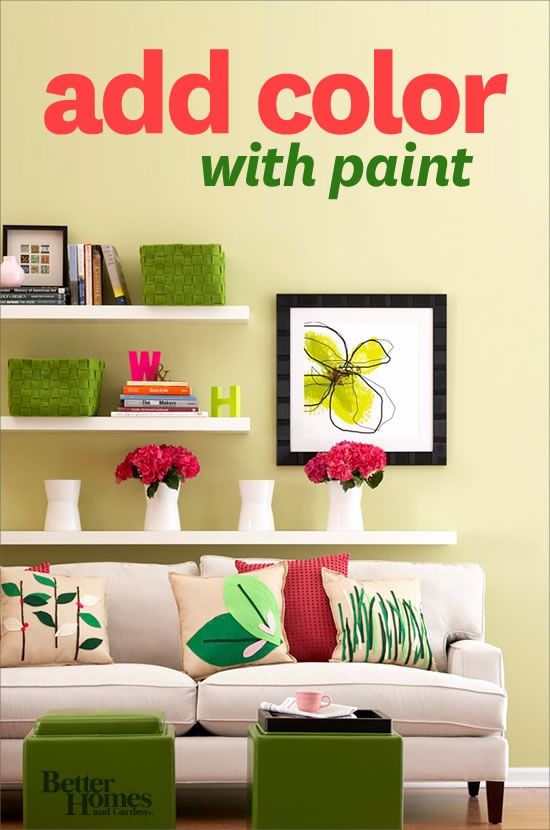 Transform your home with paint! We'll show you how: www.bhg.com/...