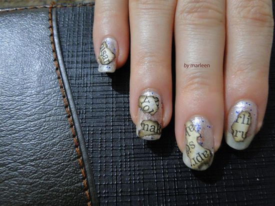 Remnants of the fire - Nail Art Gallery by NAILS Magazine
