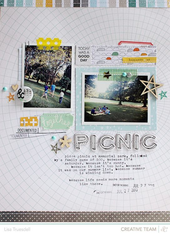 #papercraft #scrapbook #layout    Scrapbooking Kits, Paper & Supplies, Ideas & More at StudioCalico.com!