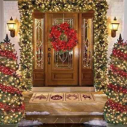 Love this  #rustic #christmas #xmas #decorating #vintage