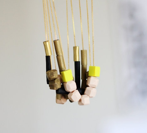 Mixed Beaded Necklaces
