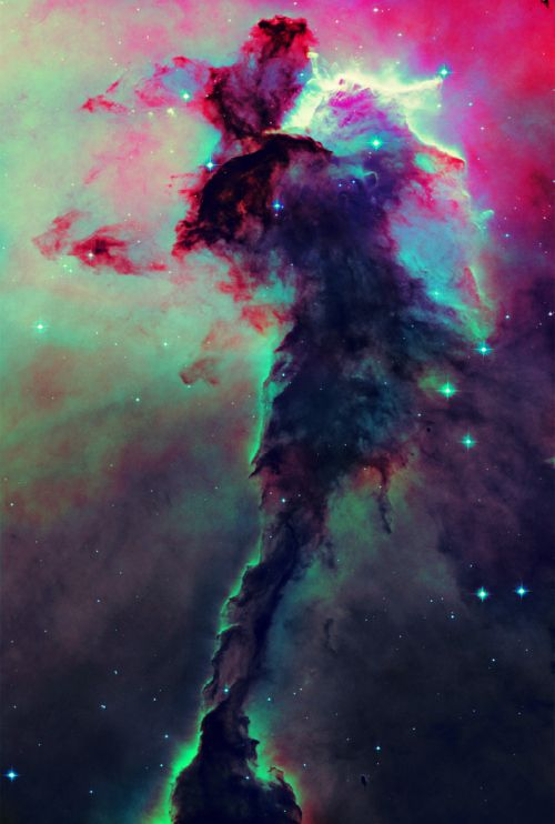 Fairy of Eagle Nebula- I'm not usually a nebula person, but this one is amazing.