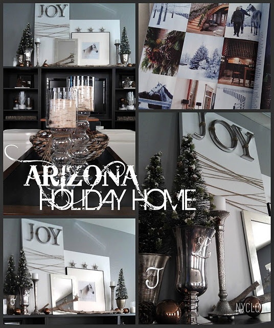 AZ Holiday at Home Decor by Lynda Quintero-Davids #FocalPointStyling #Holiday #Christmas #Decorating