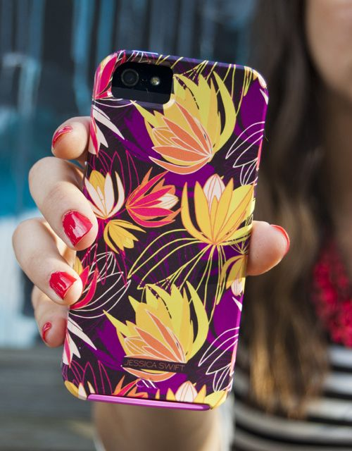 Brand new Jessica Swift for Case-Mate Lila iPhone case