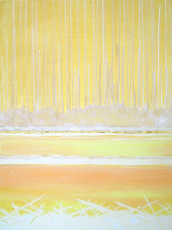SOLEiL #abstract #painting #art