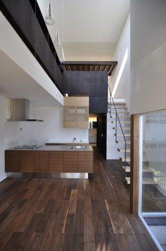 E House / D.I.G Architects / Modern Kitchen