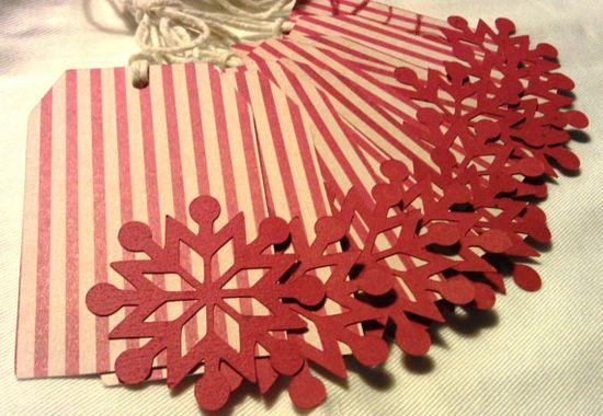 DIY Christmas gift tags!