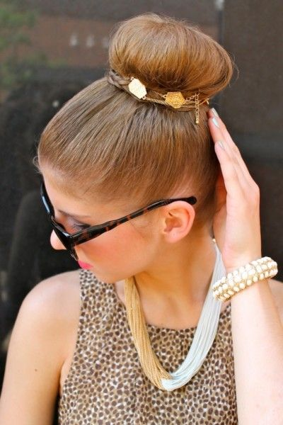 jeweled hair styles