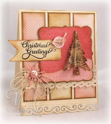 Beautiful handmade Christmas card!