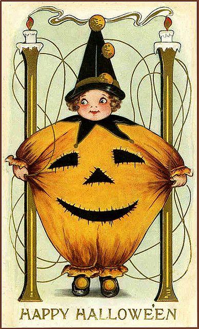 Happy Halloween, pumpkin! :) #vintage #Halloween #costume