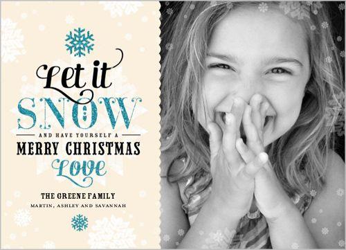Let It Sparkle Christmas Card