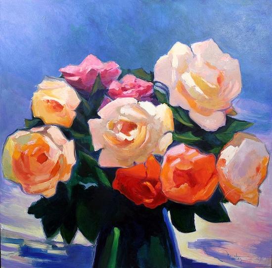roses by JJ Montegnies, via Flickr