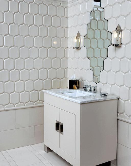 moroccan interior design and decor-bathroom