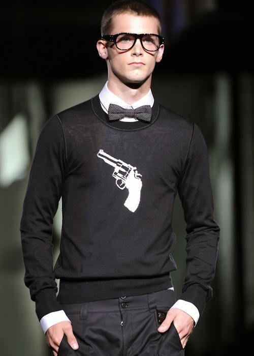 gun sweater