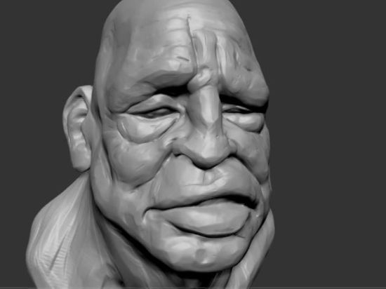 a quick 3D sketch done with dynamesh in zbrush.