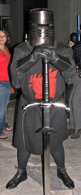 The Black Knight from Monty Python and the Holy Grail.