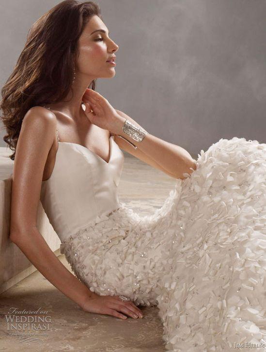 jim hjelm wedding dresses 2011 @ weddinginspirasi....