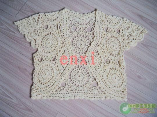 spring and summer crafts: lace bolero free crochet patterns