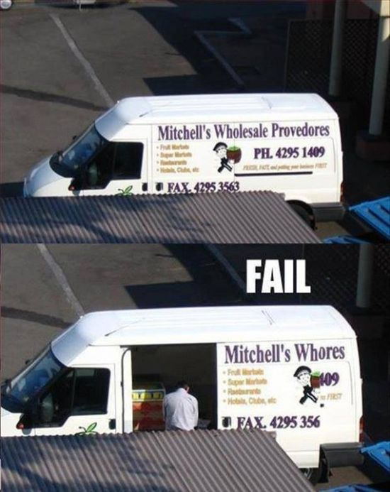 Funny van advertising fail - www.jokideo.com/...